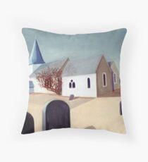 Hinxhill Church Throw Pillow
