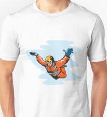 Camiseta ajustada Skydiving