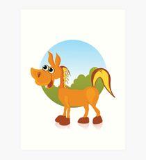 Lámina artística Donkey