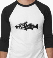 Pescetarian Men's Baseball ¾ T-Shirt