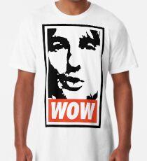 Camiseta larga Guau. Es Owen Wilson. Guau.