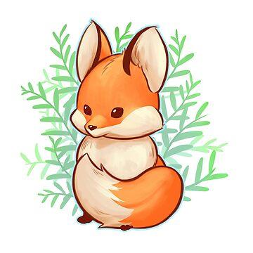 Cute small fox by LinaFleer