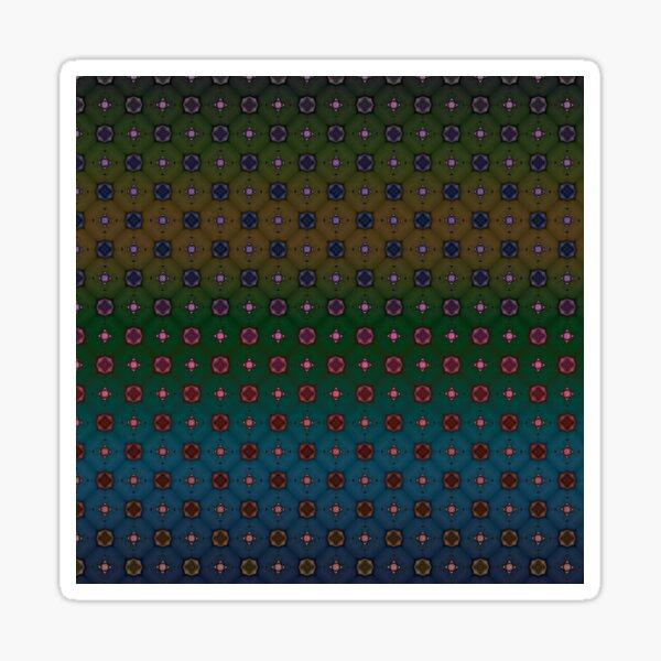 Geometric Abstract Pattern 9 Sticker