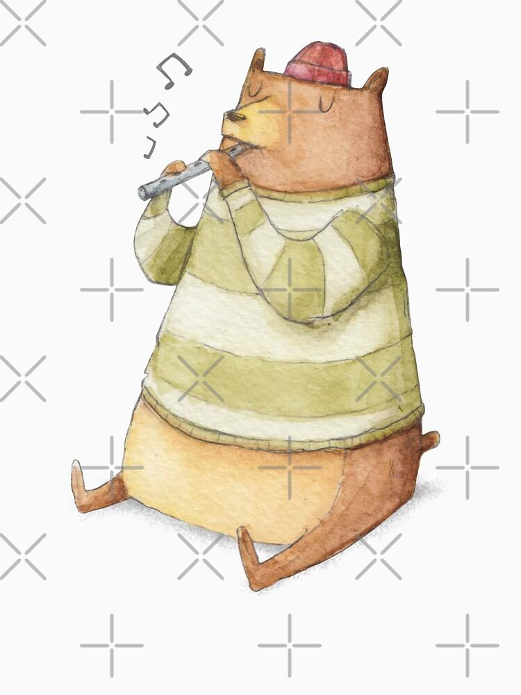 Happy Bear by mikekoubou