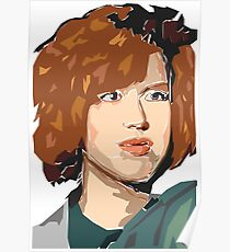 Molly Ringwald formt Poster