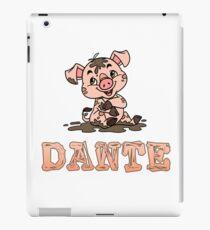 Dante Piggy iPad Case/Skin