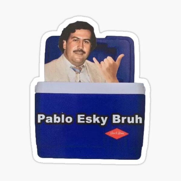 Pablo Esky Bruh Sticker