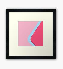 Bubble Gum Wall Framed Print