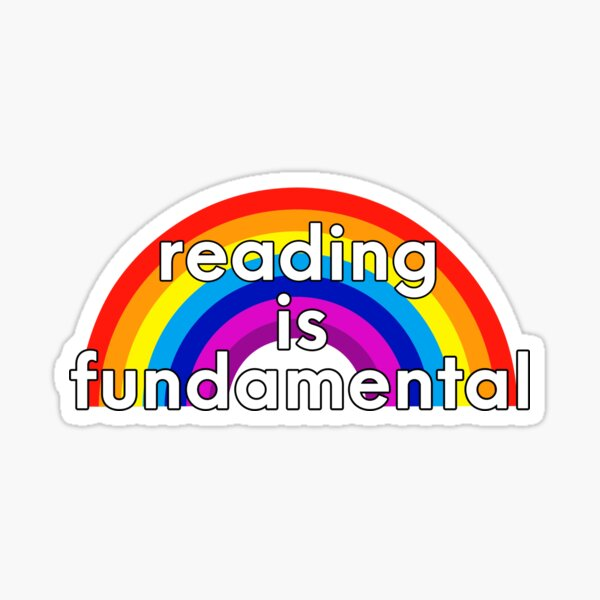 Reading is Fundamental Sticker