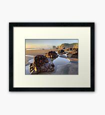 Maori Bay  Framed Print