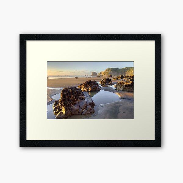 Maori Bay  Framed Art Print