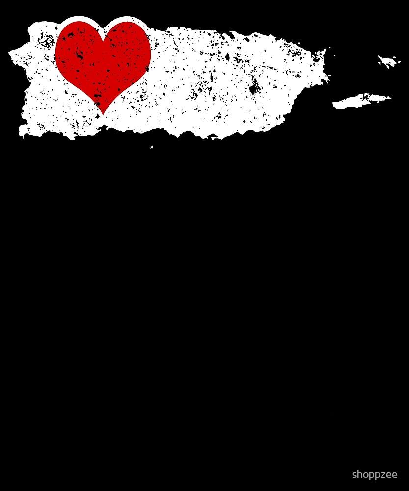 Valentines Day Shirt Puerto Rico Valentine Ideas Hearts by shoppzee