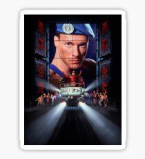 Street Fighter Movie Sticker