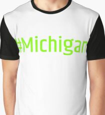 #Michigan Graphic T-Shirt