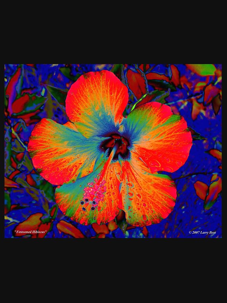 Festooned Hibiscus by BadHabitsLounge