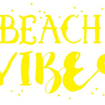 Beach vibes with dots by juliacreates