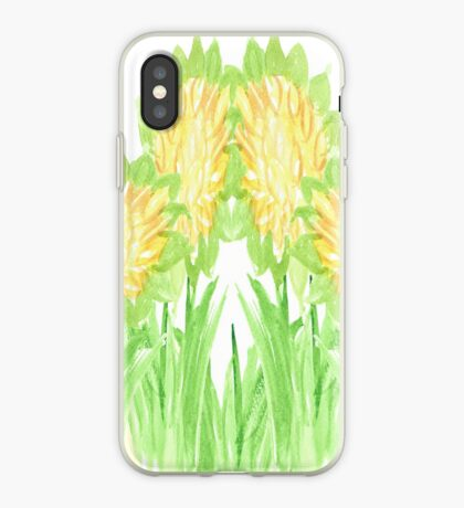 Showy Sunflowers iPhone Case