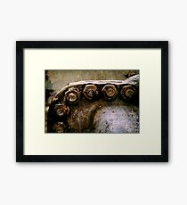 Bolts you don't want to trust Framed Print
