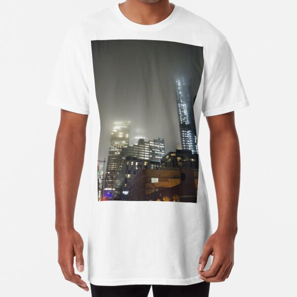 New York, Manhattan, New York City, Skyscraper, tower block, high rise building, tower, block, high rise, building Long T-Shirt