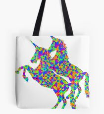 Psychedlic Unicorns Tote Bag
