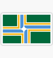 Flag of Portland, Oregon Sticker