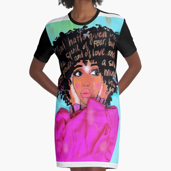 WILD THOUGHTS Graphic T-Shirt Dress