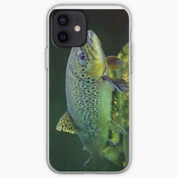 BROWN TROUT iPhone Soft Case