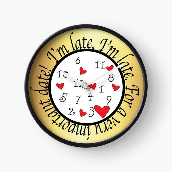 Alice in Wonderland Clock Clock