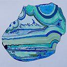 Agate Art No.1 by Susan A Wilson