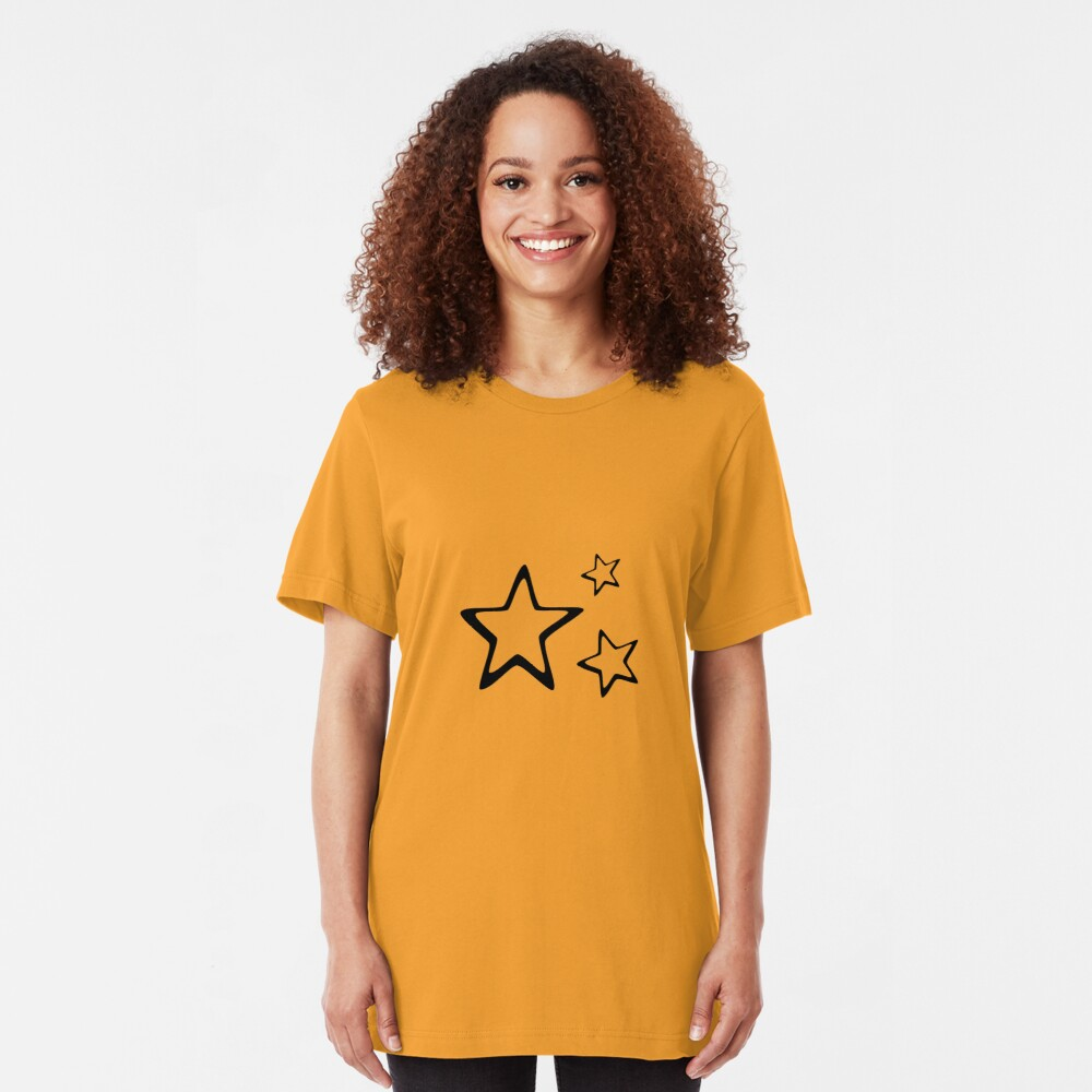 My Little Stars. Slim Fit T-Shirt