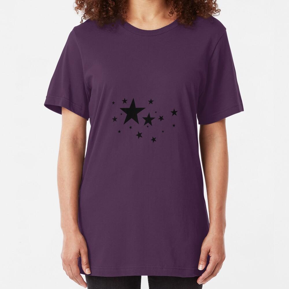 Star Light, Star Bright. Slim Fit T-Shirt