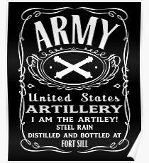 Artillerie der Armee Poster