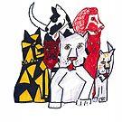 """Dogs of Lore"" by jaartist29"