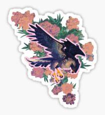 perennial falcon Sticker