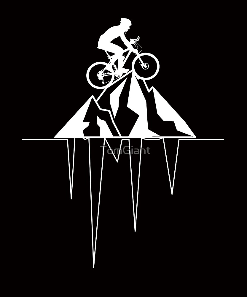 Mountain Bike Shirt - Gift by TomGiant