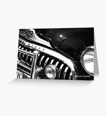 Classic Car 50 Greeting Card