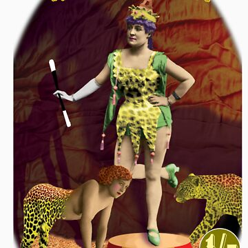 Max Scratchmann's MAGICIANS - The Leopard Lady by Maxillus