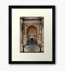 U.S. Capitol Grounds Drinking Fountain - Frederick Law Olmsted - Architect - 1874 Framed Print