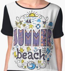 Summer beach Chiffon Top