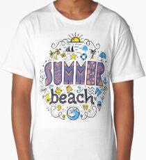 Summer beach Long T-Shirt