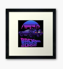 Back to the Oasis Framed Print