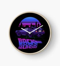 Back to the Oasis - Ready player One Uhr