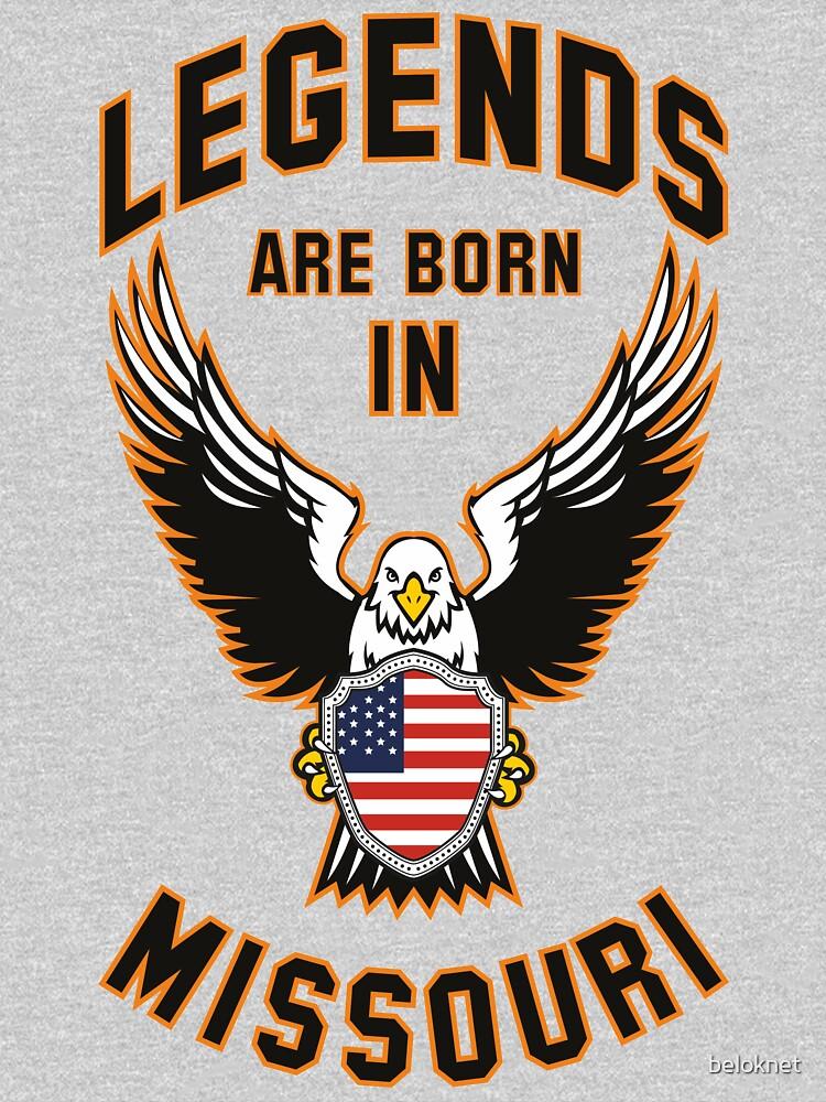 Las leyendas nacen en Missouri de beloknet