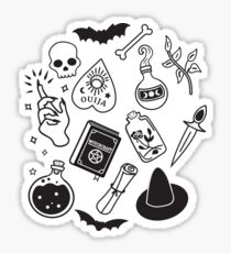 Witchy Essence Pink Glossy Sticker