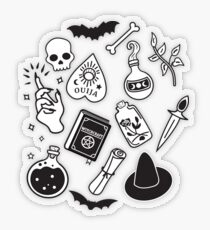 Witchy Essence Pink Transparent Sticker