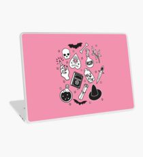 Witchy Essence Pink Laptop Skin