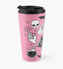 Witchy Essence Pink Travel Mug