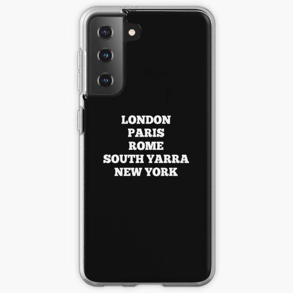 South Yarra, Melbourne, Australia Samsung Galaxy Soft Case