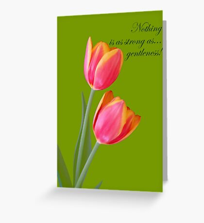 Gentleness  Greeting Card