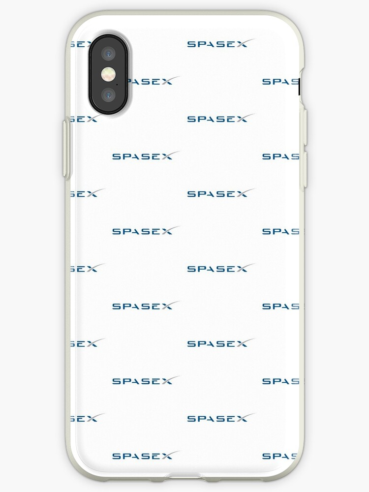 'SpaceX' iPhone Case by ricardordze